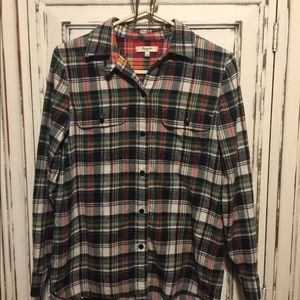 Set of 2 Madewell Flannel Shirts